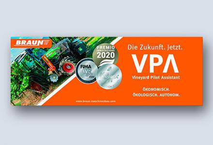 Anzeige | Braun Maschinenbau GmbH
